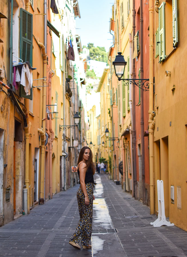 Menton, cute town on the French Riviera