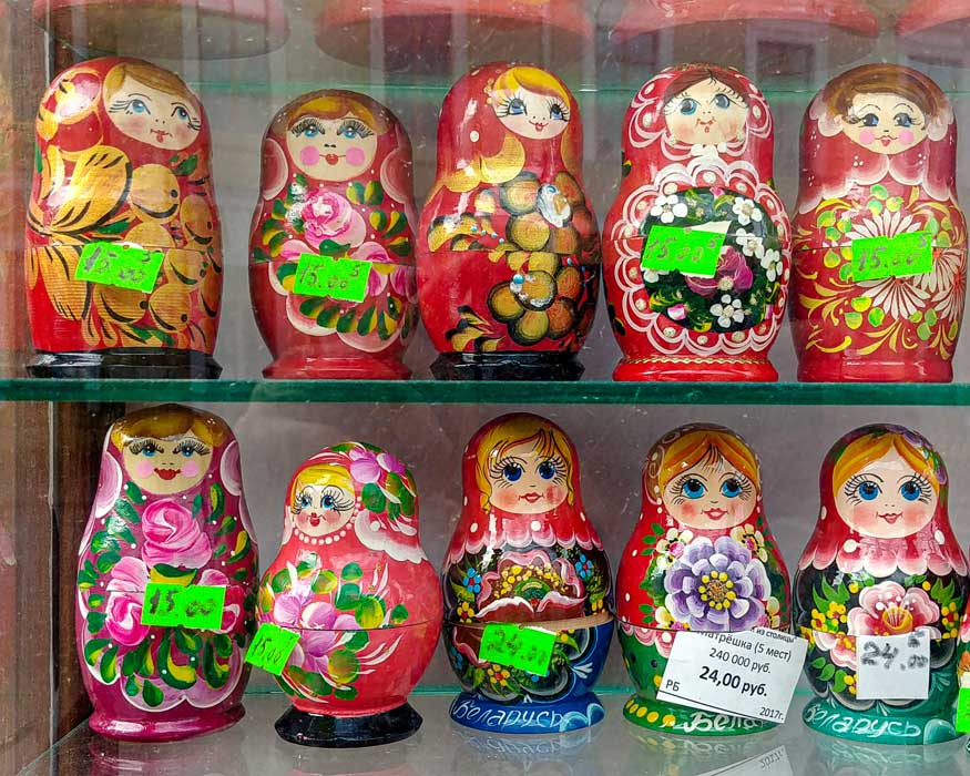 Babushka russian doll