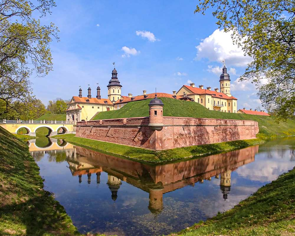 Niasviz Castle in Belarus
