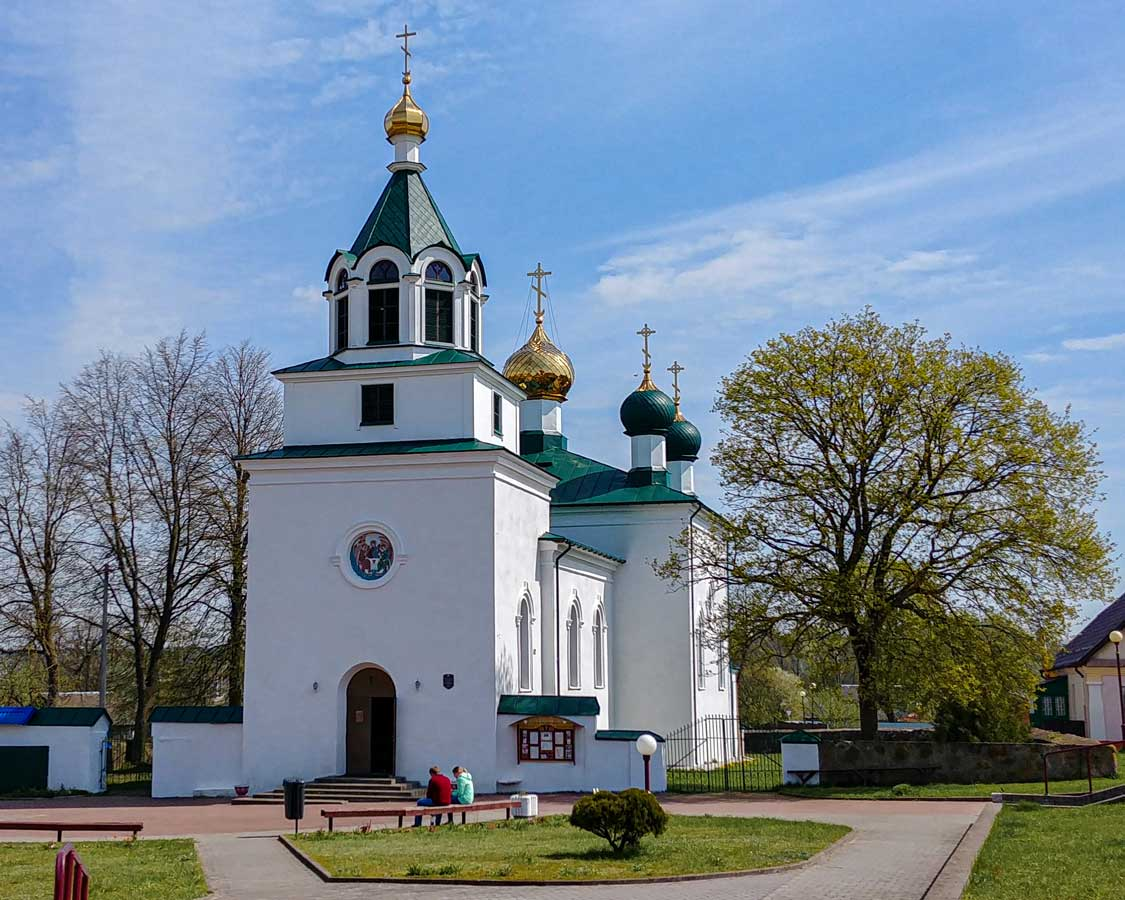 A church in Mir in Belarus
