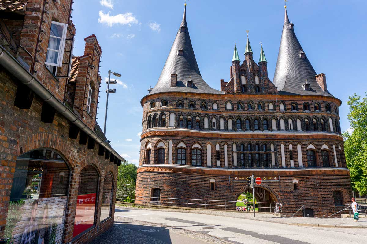 Architectural gate of Lubeck