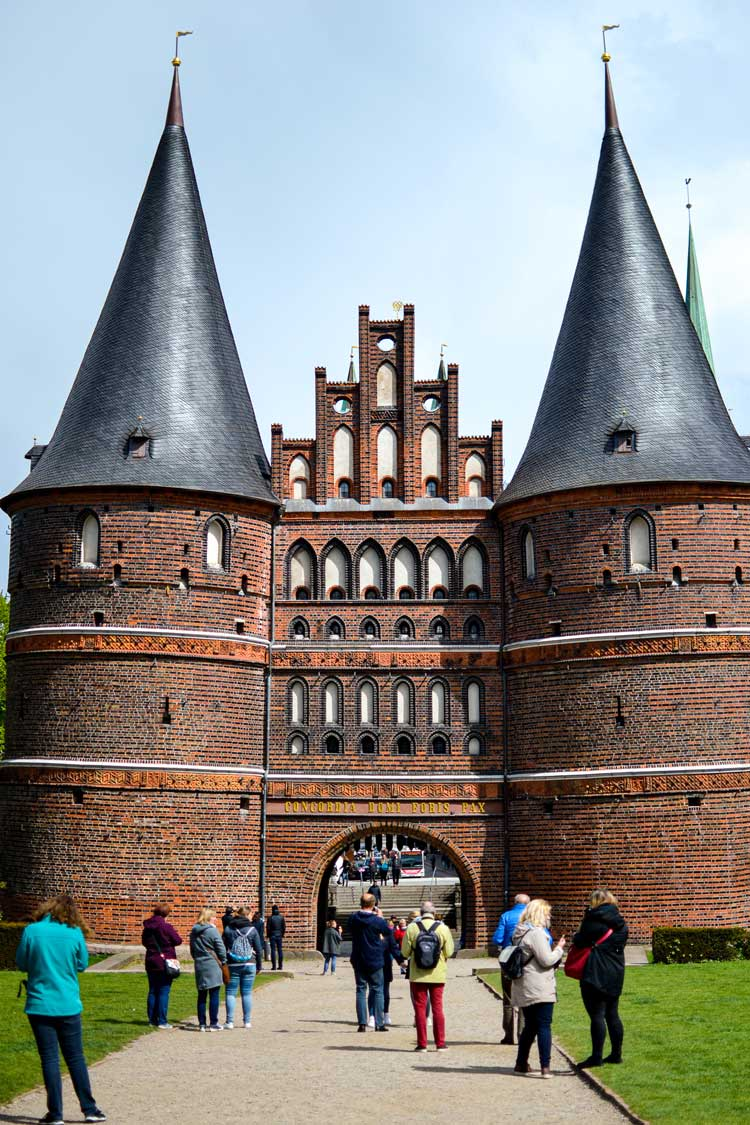 City gate in Lubeck