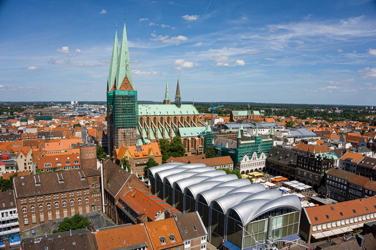 St. Mary's church of Lubeck