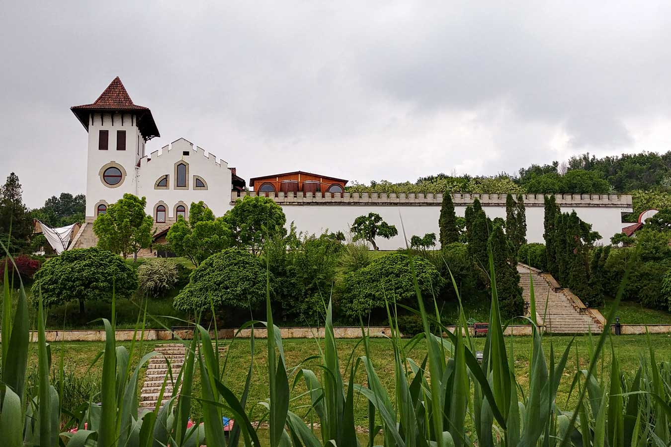 White Castle in Purcari Winery in Moldova