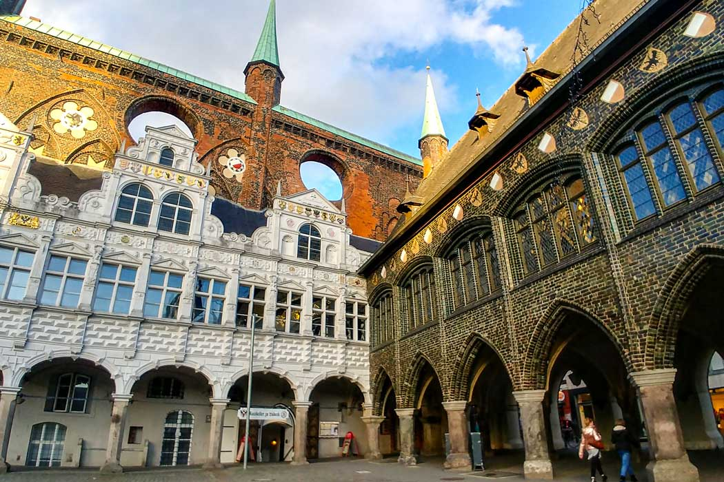 Town hall of Lubeck