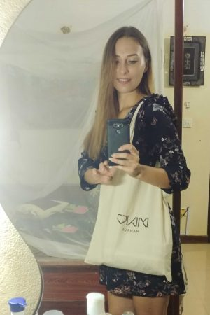 Sustainable reusable tote bag